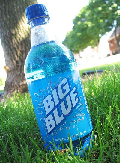 Big Blue soda from the same company that brings you Big Red, Big Peach, Big Pineapple, ect.