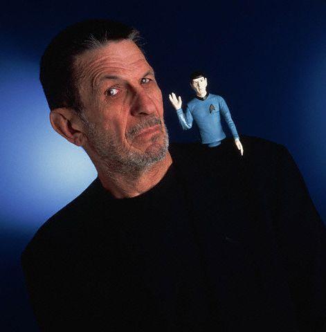 léonard et spock