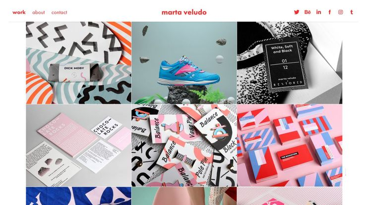 Here are some good suggestions if you have not yet found that theme or template that resonates with you and your brand yet!👨💻👩💻 . . .  10 best portfolio templates for designers | Creative Bloq http://www.creativebloq.com/advice/best-portfolio-templates-for-designers