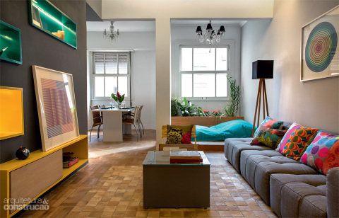 08-apartamento-brinca-com-tons-de-azul-amarelo-e-cinza