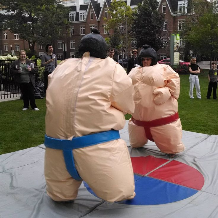 We took this year's #entertainment at our resident appreciation #event to the next level with #sumowrestling!