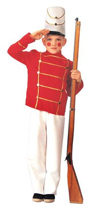 Why don't we add makeup to the parade characters?  Easy enough to add rosy cheeks to the toy soldiers!