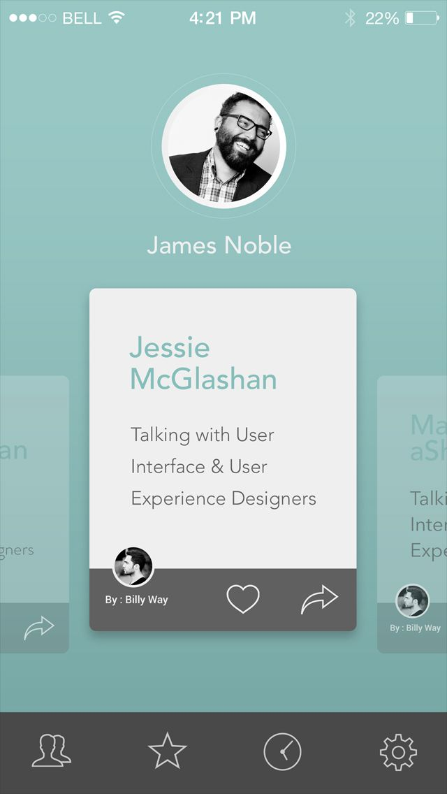 Shot interview app #UI