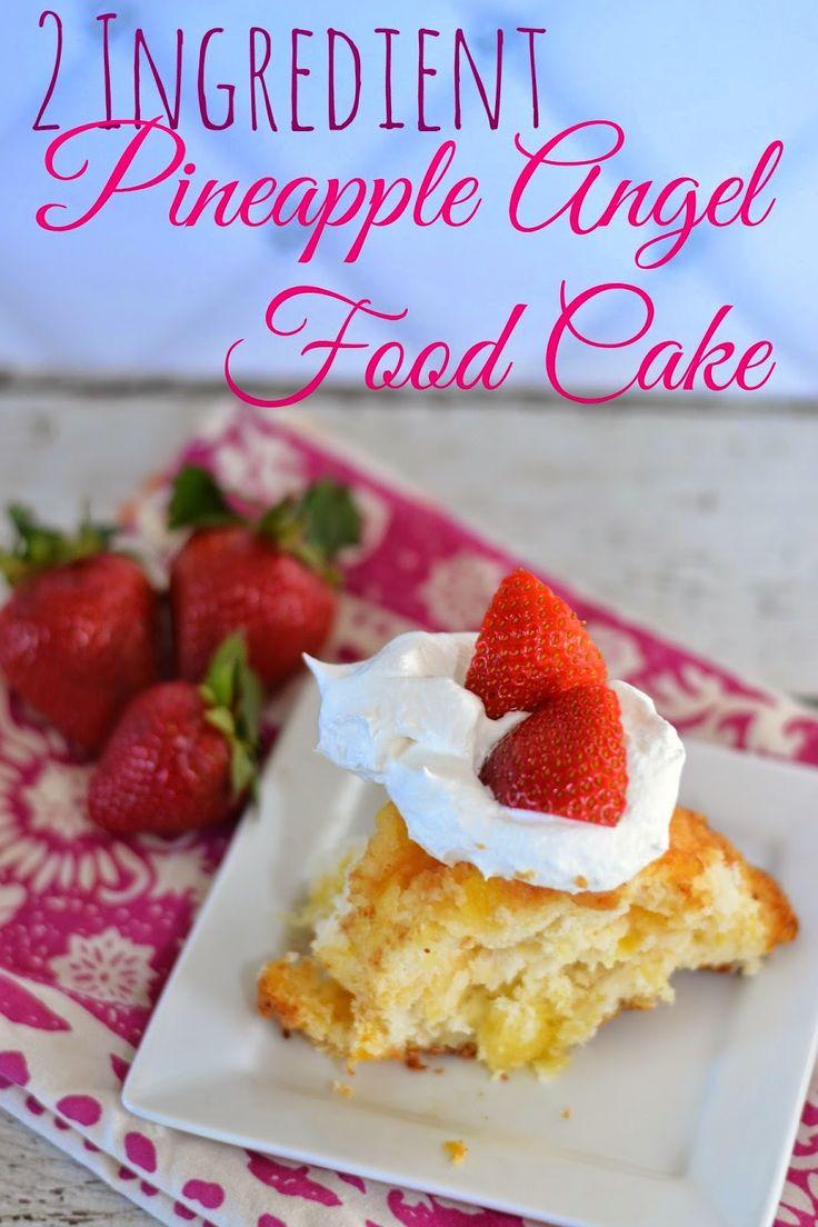 1000 ide tentang pineapple angel food di pinterest kue malaikat 2 ingredient pineapple angel food cake two ingredient angel food cake easy cake dessert forumfinder Gallery