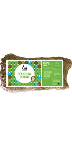 Tui Pea Straw Mulch is the perfect finishing touch to create a tidy, well cared for look in your garden, while providing all the benefits that come from mulching. Mulching protects your plants from extremes in temperatures, keeps roots moist, suppresses weed growth, and adds valuable nitrogen to your soil as it breaks down #tuiproducts