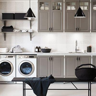 Tvättstugor – Nytt kök badrum och tvättstuga - Vedum kök och bad AB