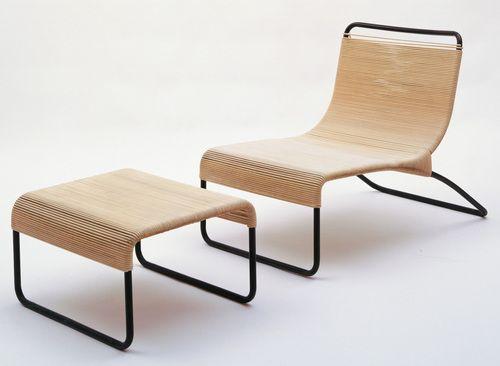 Lounge Chair And Ottoman Hendrik Van Keppel  1946