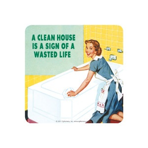 Clean House Coaster 6Pk now featured on Fab.