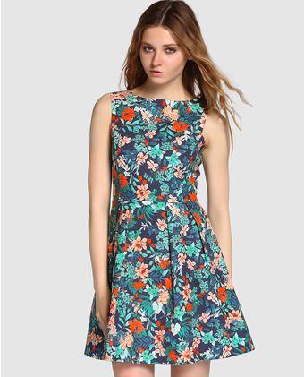 Vestido de mujer Formula Joven con estampado de flores