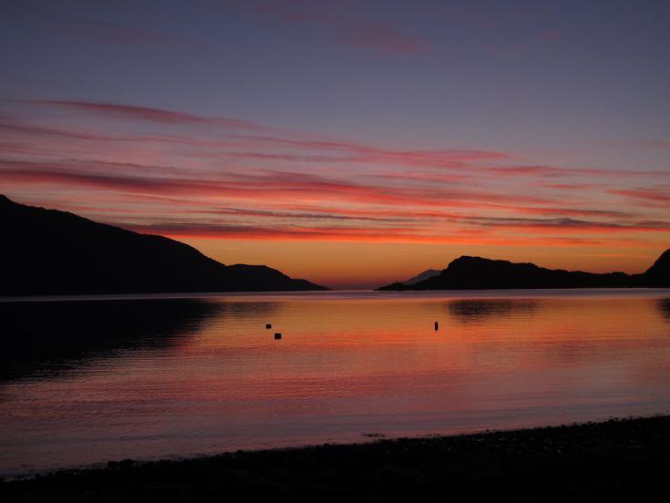 Knoydart Sunset  (c) Stephanie Harris