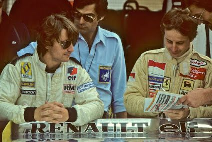Rene Arnoux, and Gilles