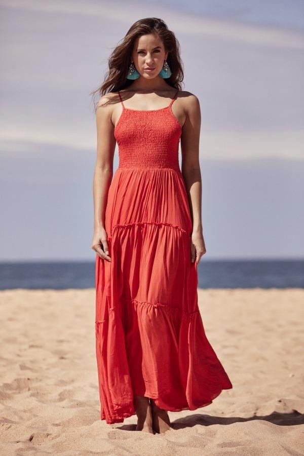 Jaase - Adriana Maxi - Red