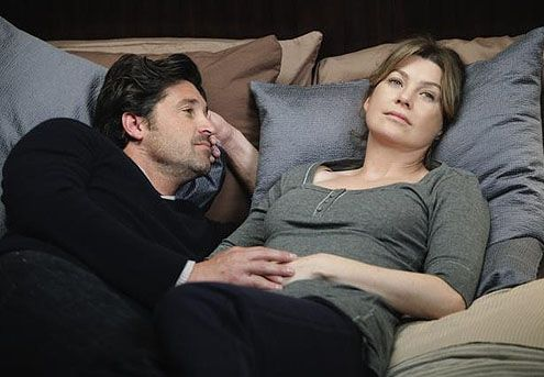 Meredith and Derek (Ellen Pompeo and Patrick Dempsey) #GreysAnatomy