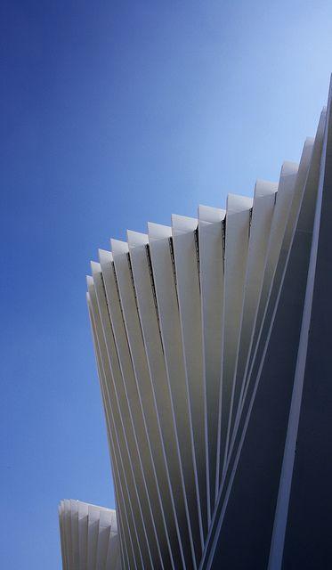 Santiago Calatrava, stazione mediopadana, Reggio emila