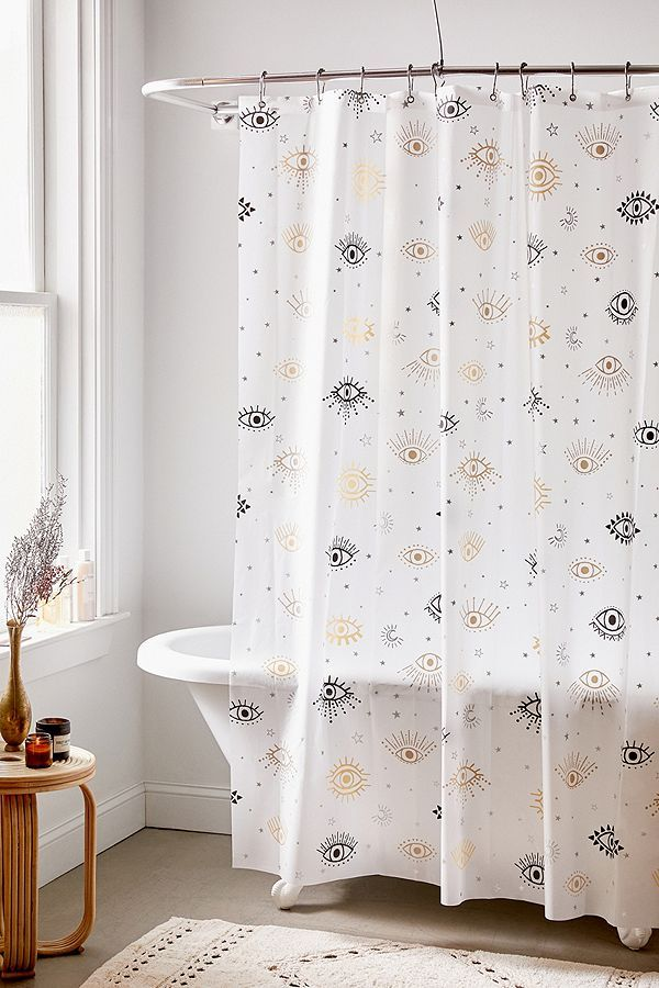 Starry Eyes Shower Curtain With Images Urban Outfitters