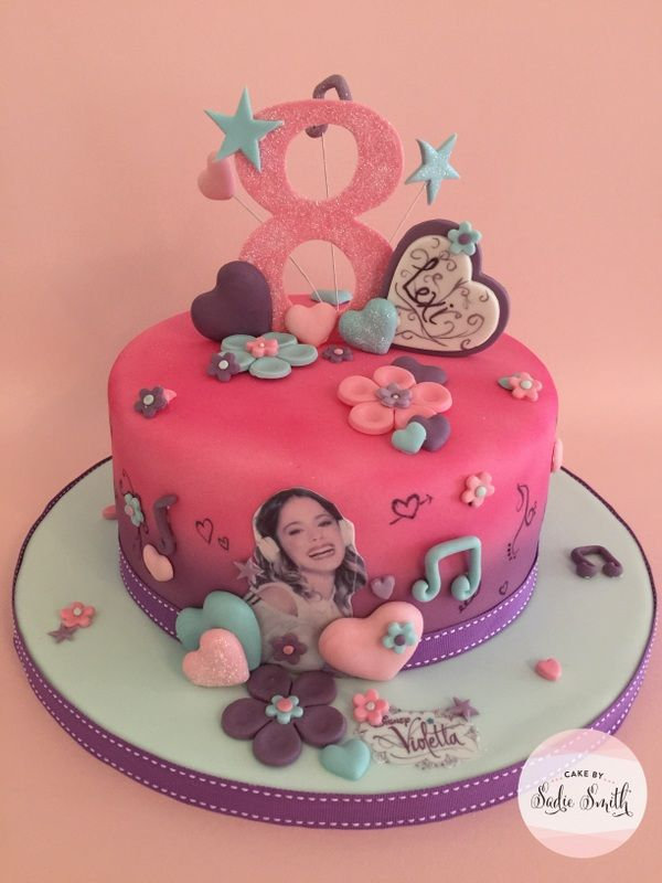 Violetta Cake - http://www.cakebysadiesmith.co.uk/celebration-cakes/violetta-cake/