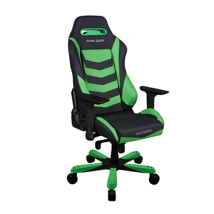 Iron chair green color ib166ne to light your office