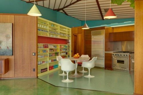 Architect Rodney Walker's Personal Residence: Decor, Mid Century Modern, Interior, Art Designs, Mid Century, Kitchen, Midcentury, Walker Residence