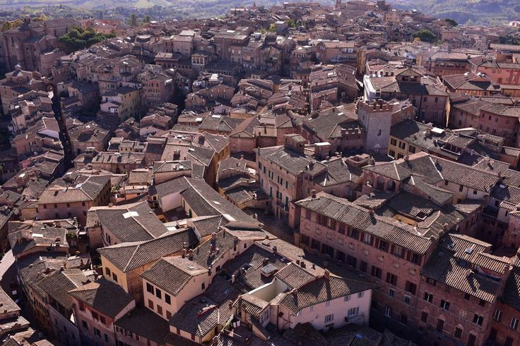 イタリア中部トスカーナ州の古都シエナ迷路のように入り組んだ歴史地区を染めるのは独特のレンガ色赤でも茶でもない淡い赤褐色は建築物や絵画装飾品など街のあらゆるものを彩り魅惑的な世界を造り出しています路地を歩き数々の美術品と接しているうちに知らず知らずシエナ色に恋してしまったという旅人も多いとかそんなシエナの魅力ある観光スポットをご紹介します