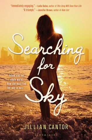 Breathtaking Book Cover: Searching For Sky