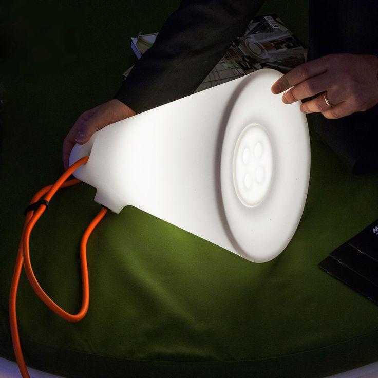 Polyethylene Ceiling Lamp TRILLY By Martinelli Luce Design Emiliana  Martinelli