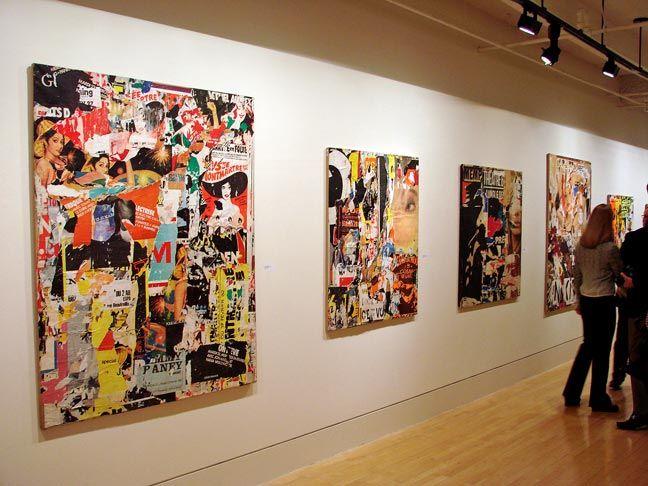 Jacques Villegle - Gallery View