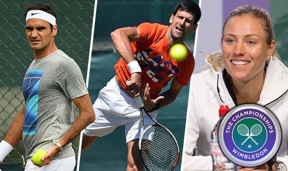 Wimbledon 2017 LIVE day two updates: Latest updates scores as Federer and Djokovic play
