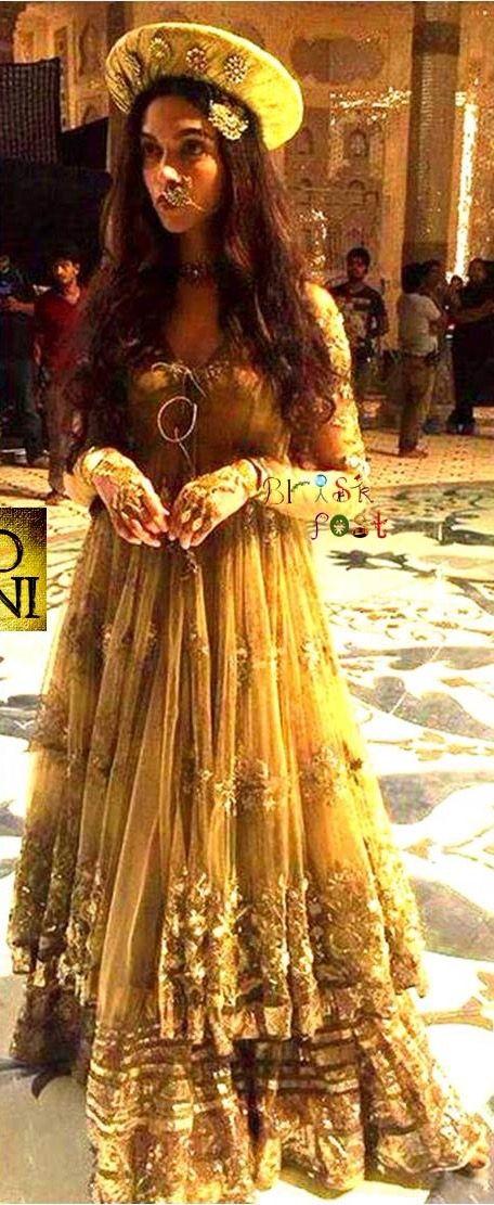 Beautiful Dress From Bajirao Mastani Indian Wedding