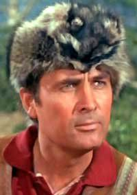 Fess Parker Davy Crockett Daniel Boone