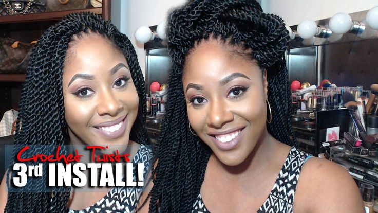 3rd Install Crochet Braids HOW TO WASH/ REUSE CROCHET BRAID HAIR