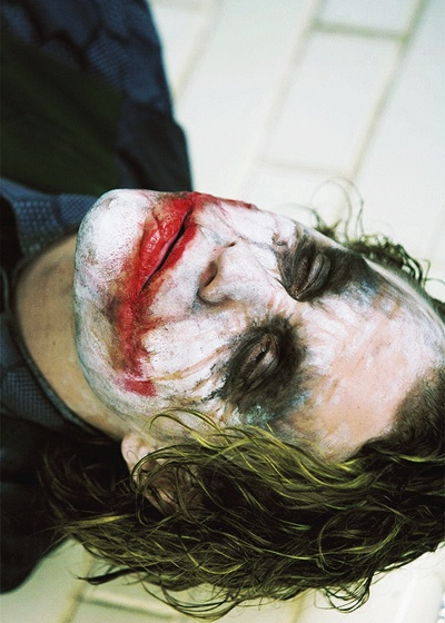 "Heath Ledger in ""The Dark Knight"" (2008)"