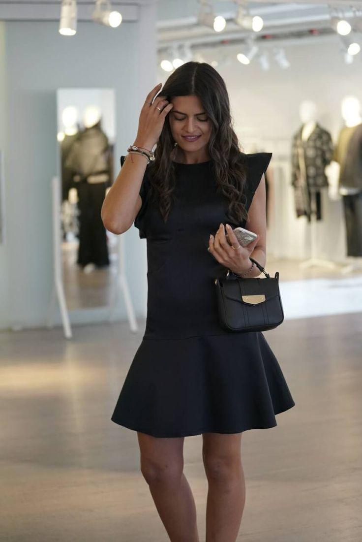 Black dress #hm #studiocollection
