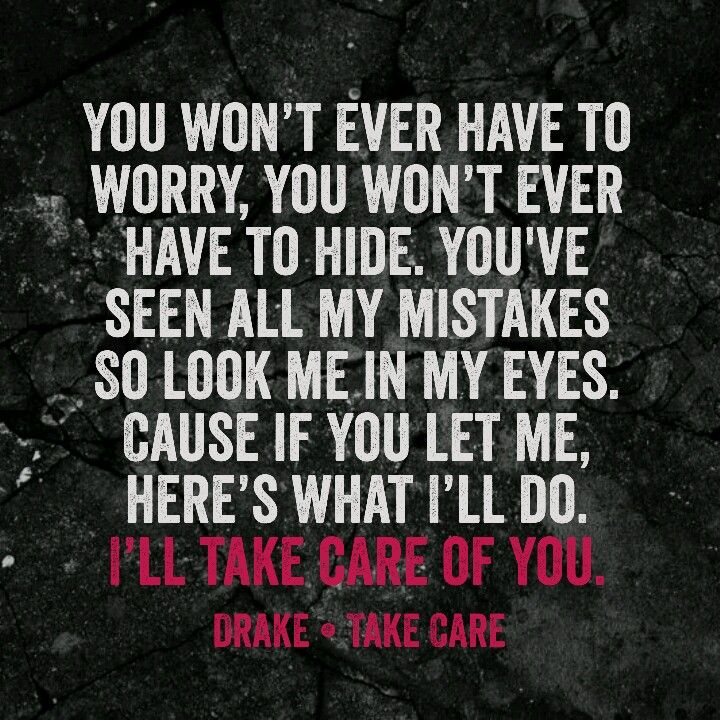 Drake ft. Rihanna • Take Care. Heard this for the first time in a while sooo good
