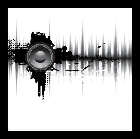 dj speakers vector. stock vector of \u0027dj, wallpaper, equipment\u0027 dj speakers u