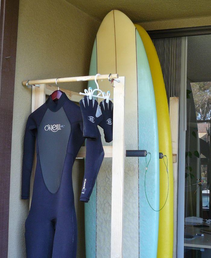 Surf Board Rack!