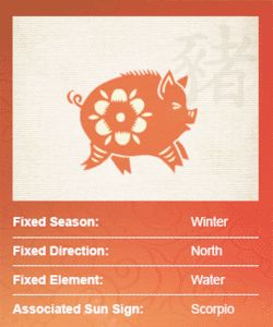 Contrary to its rather negative reputation in the West, the Pig of Chinese Astrology may be the most generous and honorable Sign of the Zodiac. Pigs...