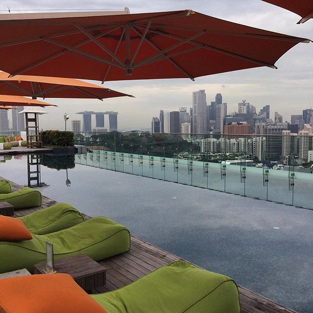 Not a bad place to retreat after a day exploring Singapore...the rooftop pool at the Hotel Jen Orchardgateway Singapore. #hoteljenorchardgateway #HotelJen #thatjenfeeling #hotel #Singapore #YourSingapore #OrchardRoad #rooftop #view #swimmingpool #reflection #water #swimming #citystyle #19thfloor #travel #travelgram #travelling #travelphotos #travelphotography @visit_singapore @hoteljenog #whpwonderland