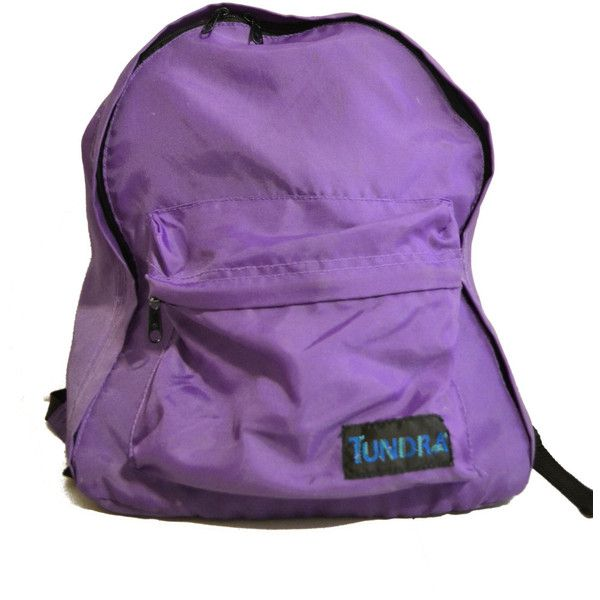 RESERVED Neon Purple Backpack / Vintage / 90s ($15) ❤ liked on Polyvore featuring bags, backpacks, accessories, fillers, vintage backpack, lightweight backpack, nylon backpack, lightweight daypack and vintage knapsack