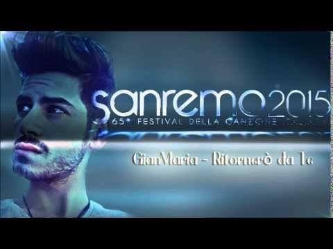 Gianmaria in Ritorenro' da te - Sanremo2015 #sanremo2015 #giovannicaccamo #ritornerodate