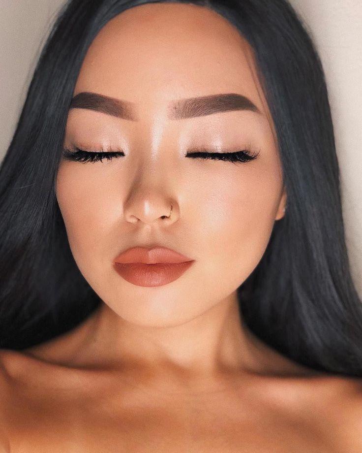 форма бровей для азиаток фото фотографии