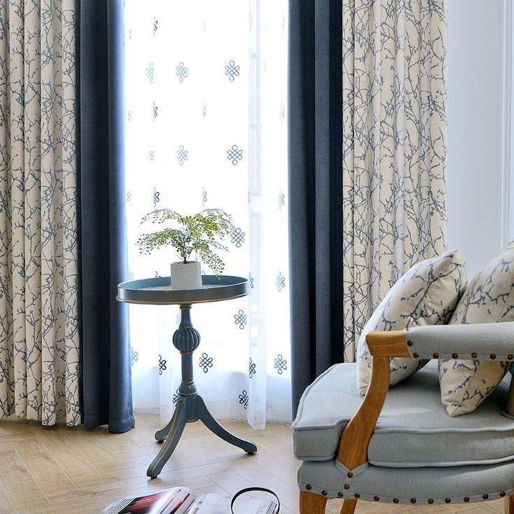 [Byetee] Blackout Fenster Moderne Luxus Vorhang Stoff Wohnzimmer Fenster  Küche Vorhänge Vorhänge Türen Für