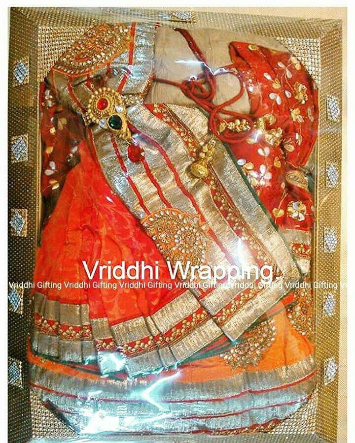 Gift Wrapping Saree Ideas Part - 44: Indian Wedding Gift Packing