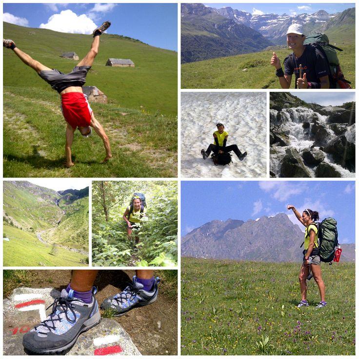 Anthony Rabeau et Magali Moreau sur le #GR10 ! #randonnée