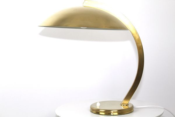 Brass Table Lamp From Hillebrand 1930s For Sale At Pamono Brass Table Lamps Table Lamp Brass Table