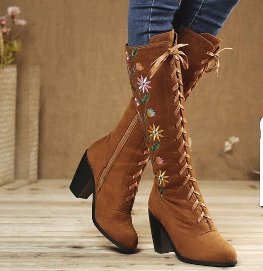 Купить Новые зимние ботинки пятки женская обувь вышитые ретро национальный стиль колен высокие ботинки крест мартин сапоги обувь женщинаи другие товары категории Сапоги и ботинкив магазине Lila's ShopнаAliExpress. ницца и сапоги поверх обуви