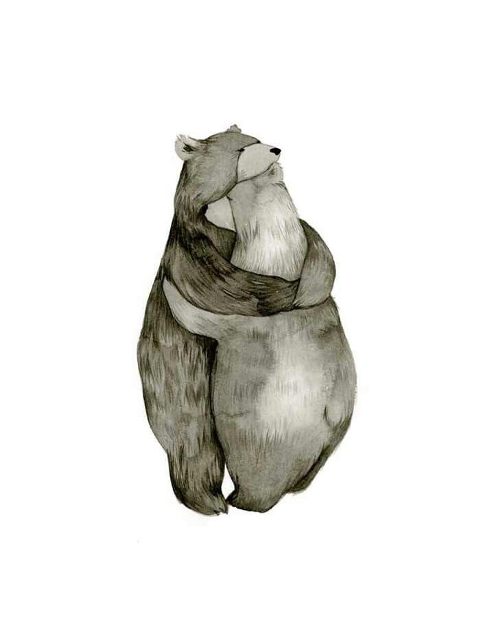 Bear Illustration Mehr