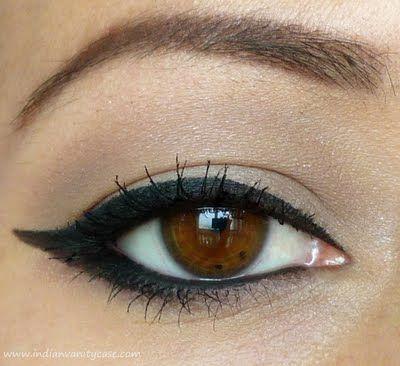 MAC brulee, MAC malt, UD vinyl plus MAC liquidliner and stila kajal eyeliner in onyx