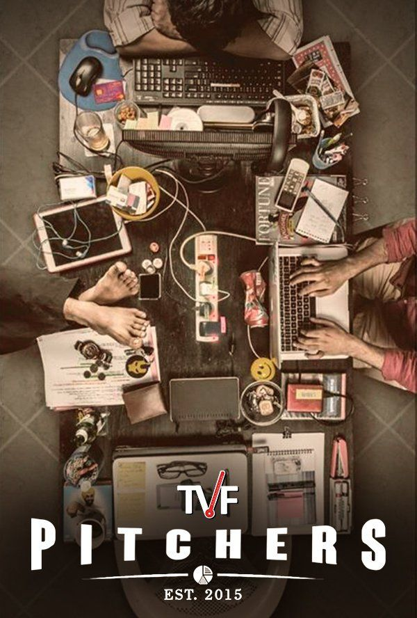 """TVF Pitchers"" (2015) Film Poster"