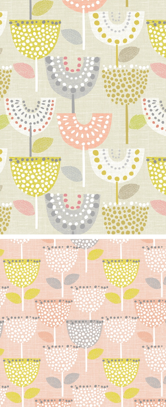 wendy kendall designs – freelance surface pattern designer » linen tulip