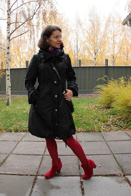reds stockings